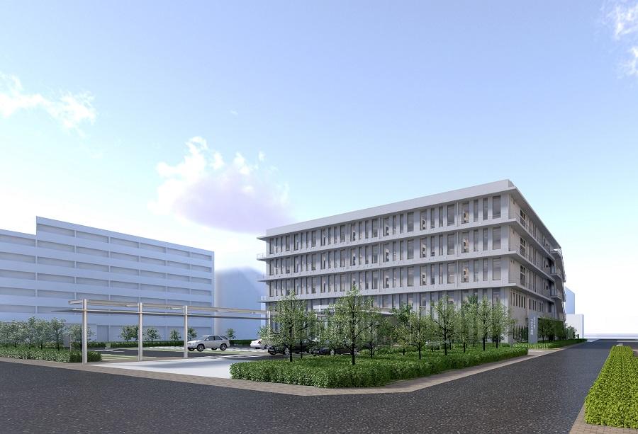 新病院の外観です